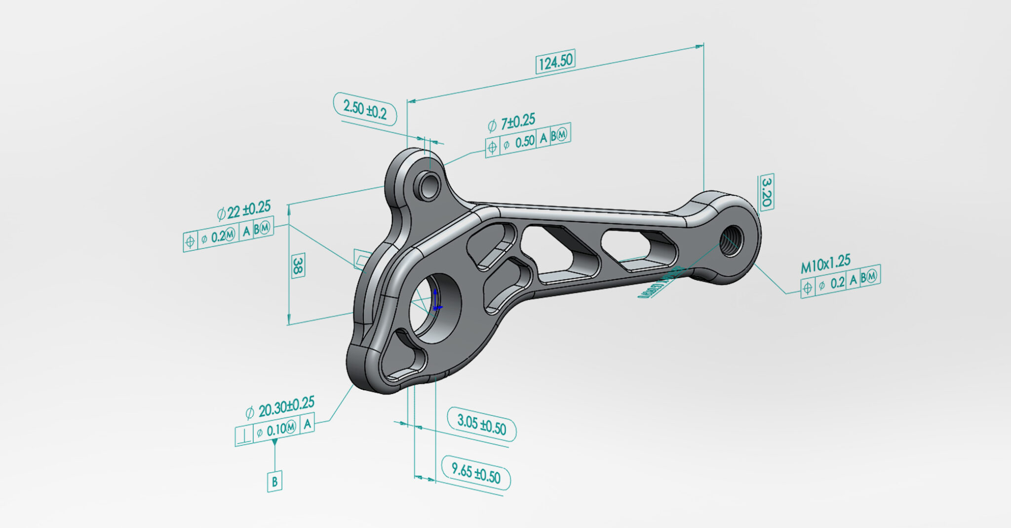 SOLIDWORKS MBD (Model Based Definition)