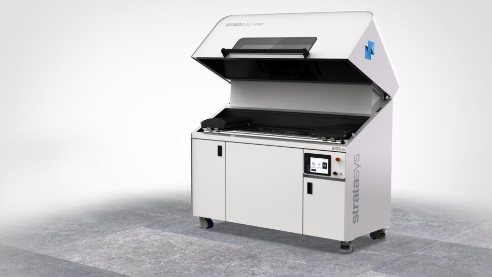 SAF technology enables an industrial-grade powder-based additive manufacturing process to achieve higher levels of end-use component production. SAF technology fuses polymer powder particles together in small layers using an infrared-sensitive HAF (High Absorbing Fluid).