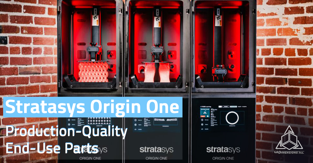 Stratasys Origin One Production-Quality End-Use Parts