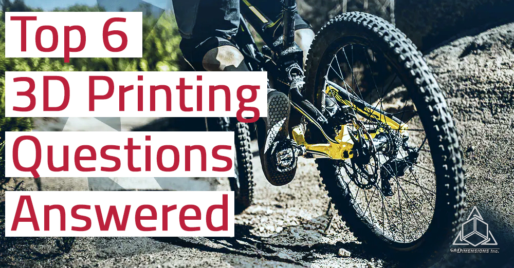 3d printing questions answered
